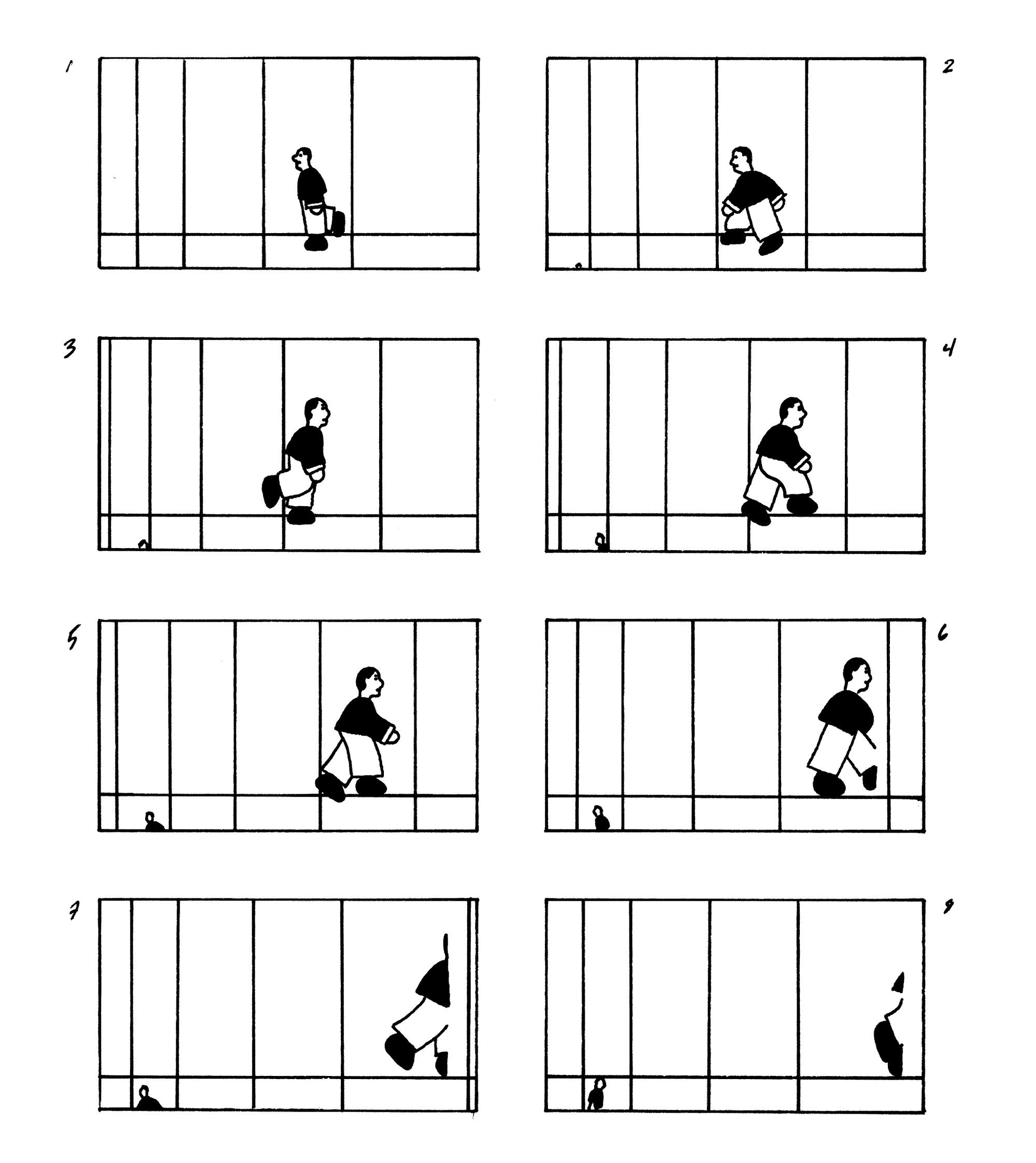 Nicolas Menard Home Sequence Animation Stairs