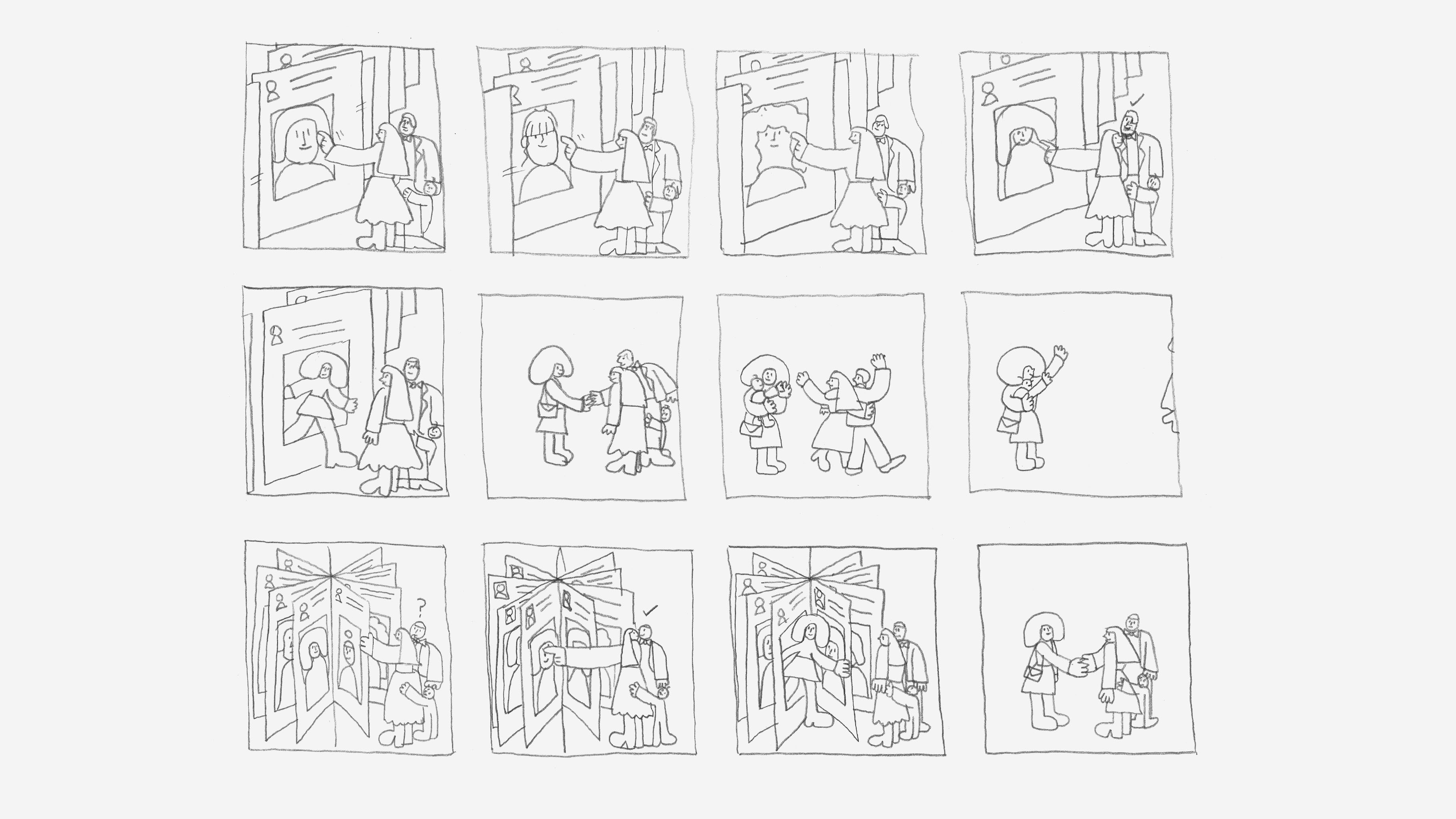 Facebook Groups James Graham Sketches Storyboards 01