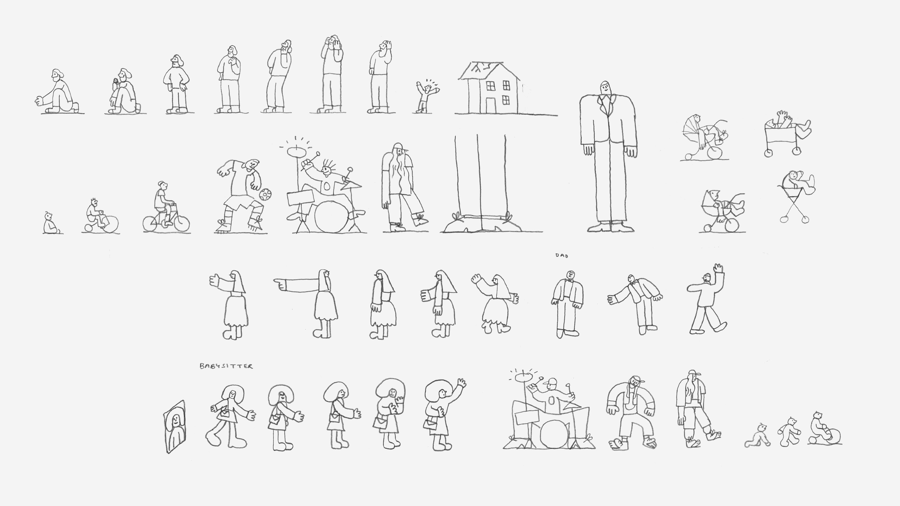 Facebook Groups James Graham Sketches Storyboards 02