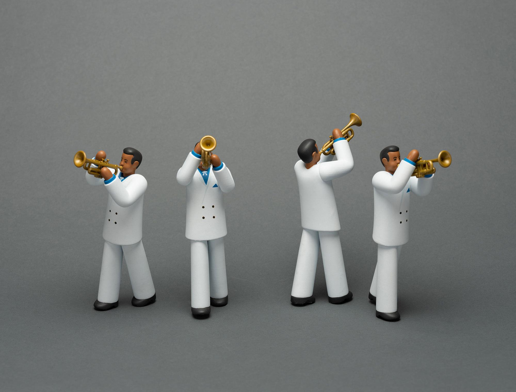 Nicolas Menard Project Corona Props Jazz Man
